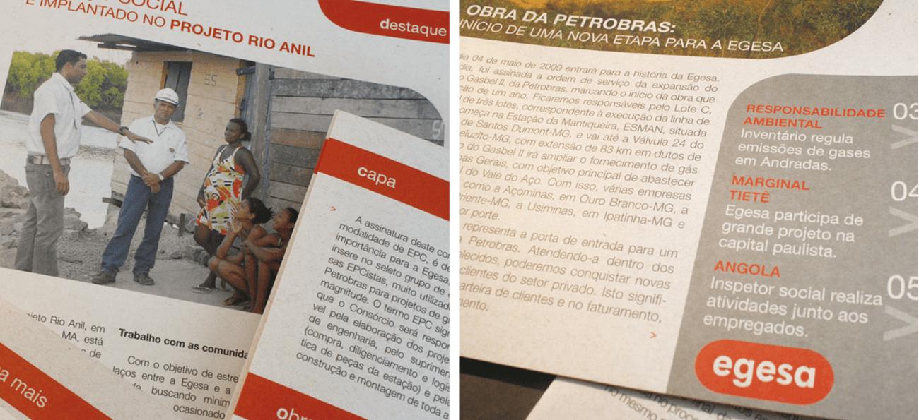 Jornal Egesa detalhe